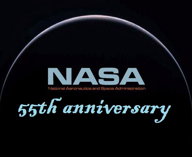 NASA 55 th anniversary