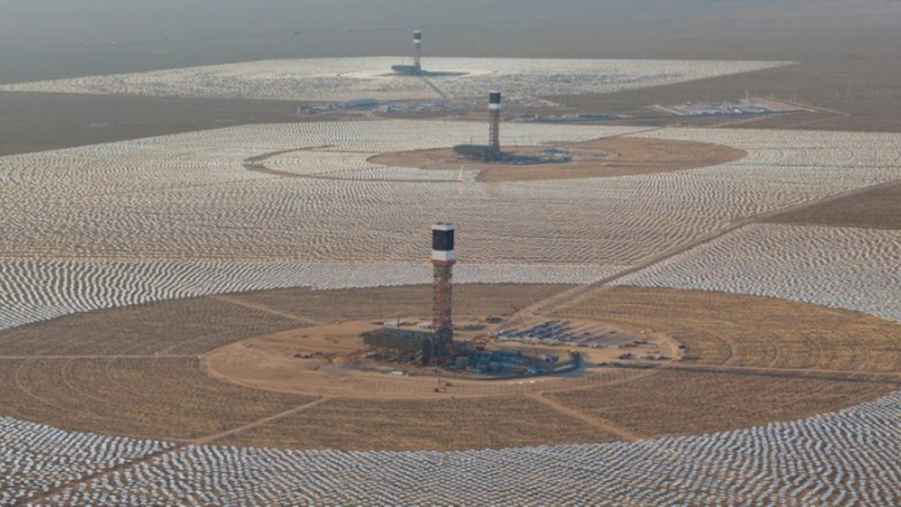 The Biggest Solar Thermal Power Plant in the World