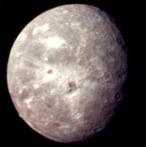 Oberon Uranus Moon