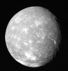 Titania the moon of uranus