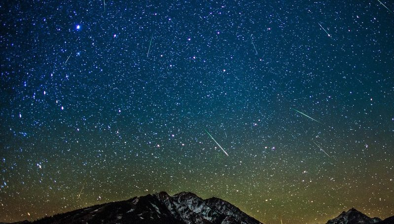 Meteor shower calendar for 2015