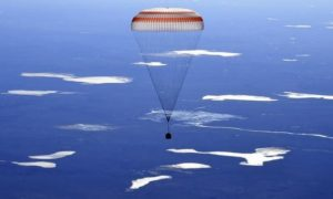 3 Space Station Crewmembers Came Back to Earth