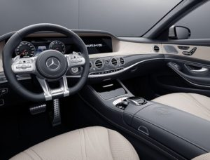 Mercedes-AMG S 63 4MATIC+ Coupé interior