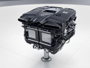 Powertrain The Mercedes-AMG S 63