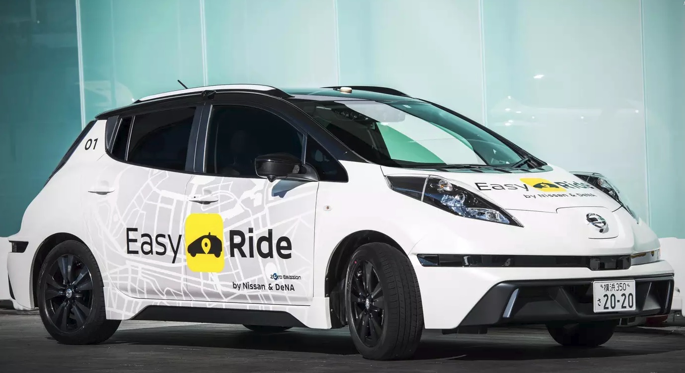 Nissan Self-Driving Taxi