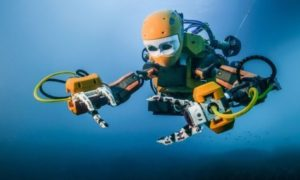 OceanOne Humanoid Robot Discovers Depths of the Oceans Exploring Coral Reefs