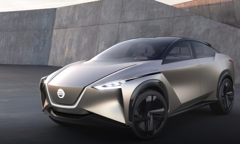 Nissan IMx Self-Driving Concept Car