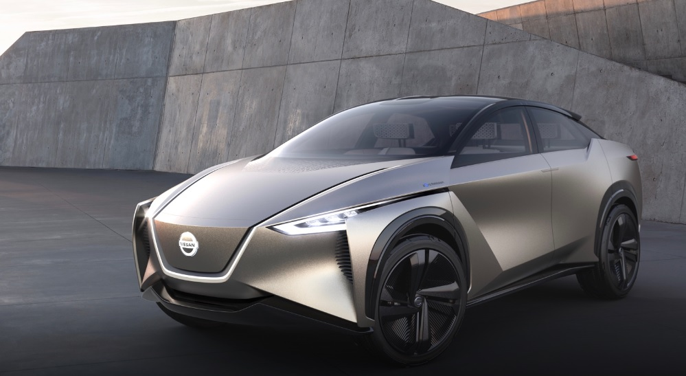 Nissan IMx Self-Driving Concept Car