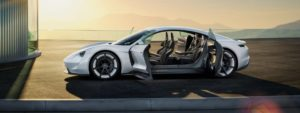 Porsche Mission E Electric Concept Car