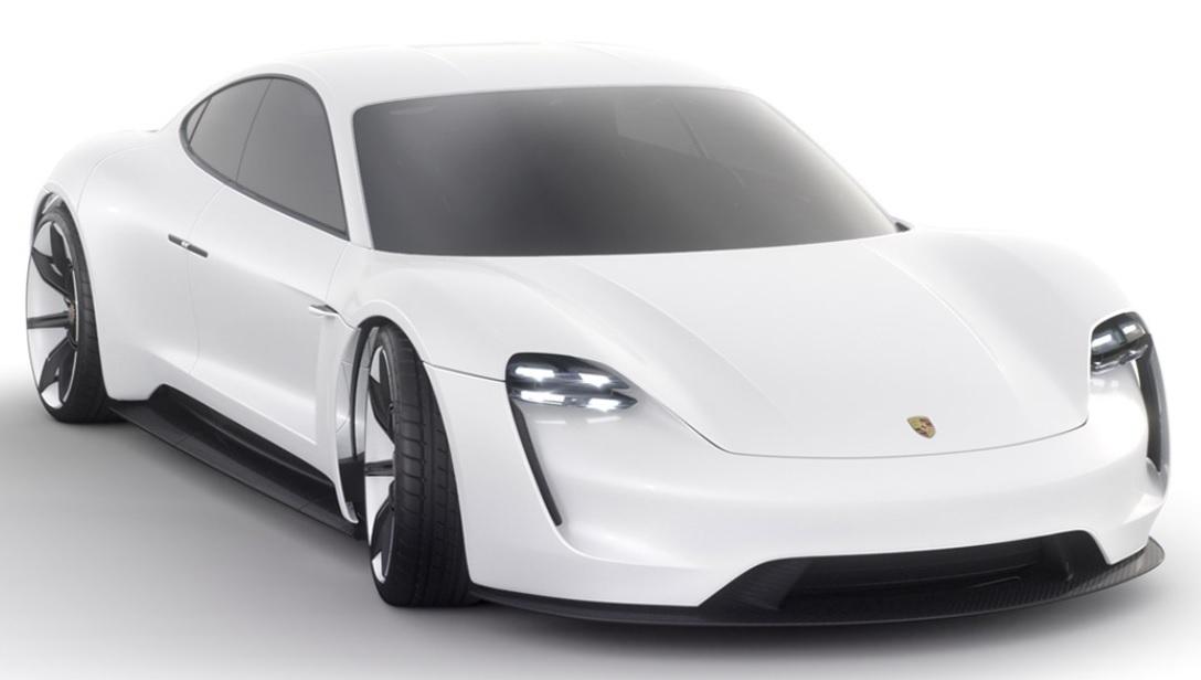 Porsche Mission E Electric Concept Car