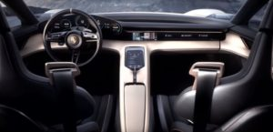 Porsche Mission E Electric Concept Car interior