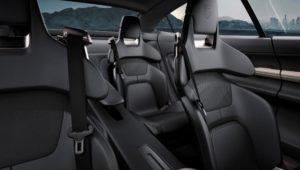 Porsche Mission E Electric Concept Car interior
