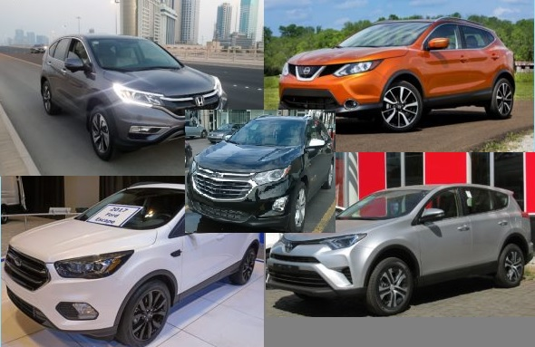 Top 5 Most Sold SUV Cars In US 2017