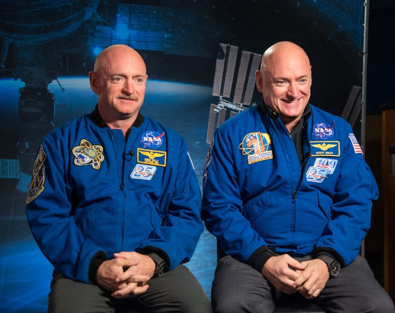 Twins Astronauts How Astronaut DNA Differs from His Twin Brother