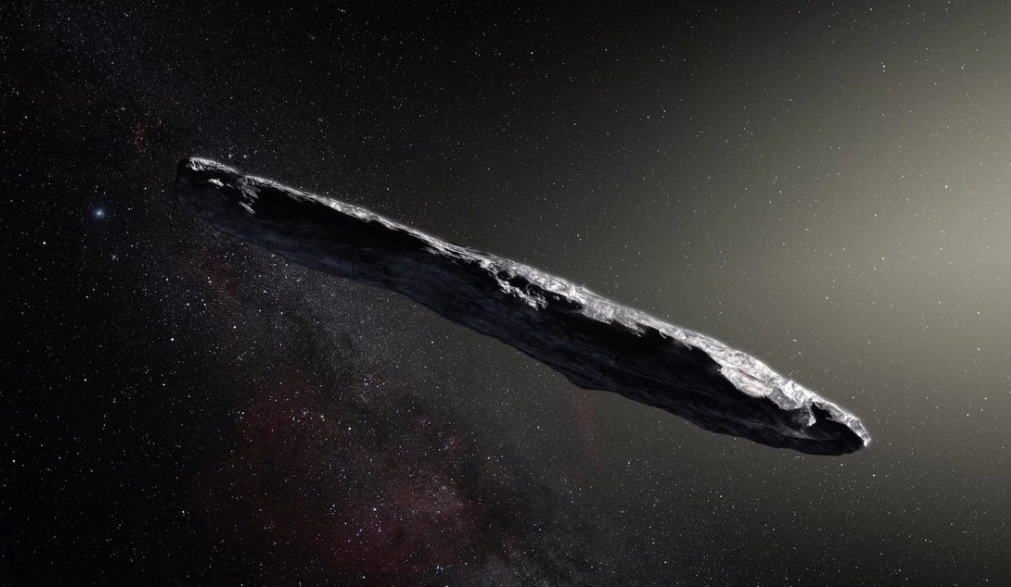 Are There Aliens on Cigar-Shaped Asteroid Oumuamua
