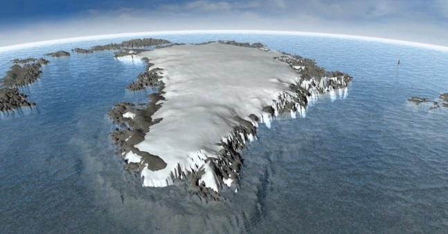 Greenland Has a Strange Dark Zone that Is Getting Darker