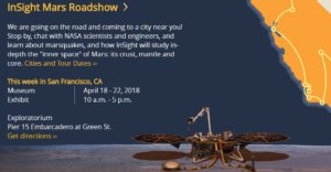InSight is going to launch from the California coast to the plains of Mars on May 5, 2018