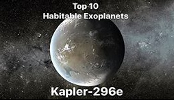 Kepler-296e is a confirmed Earth-sized exoplanet orbiting within the habitable zone of Kepler-296.