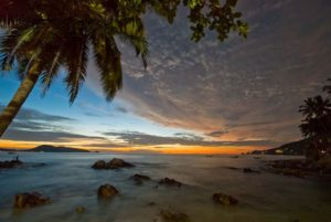 Patong Beach, Phuket Province in Thailand
