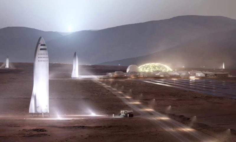 SpaceX Plans to Build BFR Big Falcon Rocket in Los Angeles