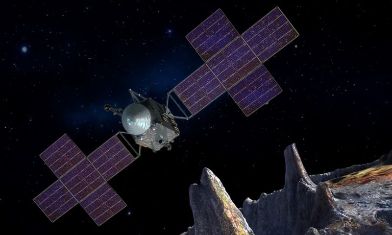 The Aims of Psyche Mission to a Metal World NASA Explains