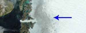 There is a Dark Zone on Greenland's ice sheet which is getting darker according to the new survey