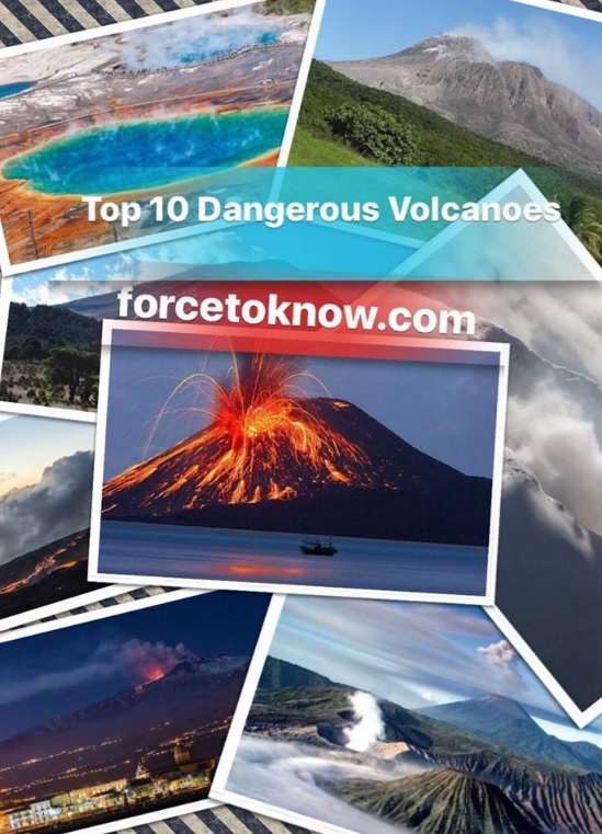 Top 10 Dangerous Volcanoes
