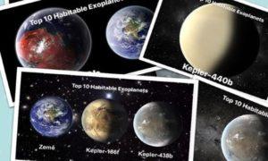 Top 10 Habitable Exoplanets