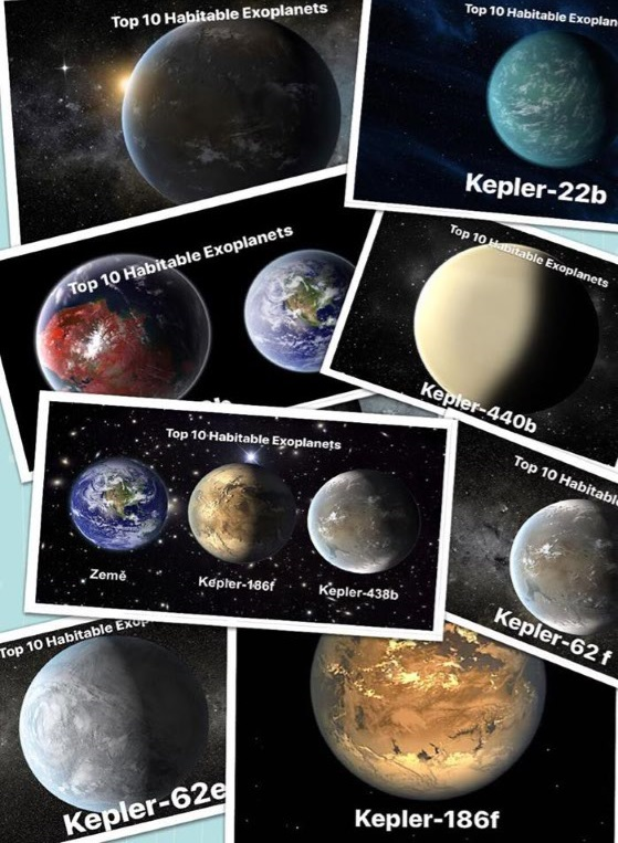 Top 10 Habitable Exoplanets