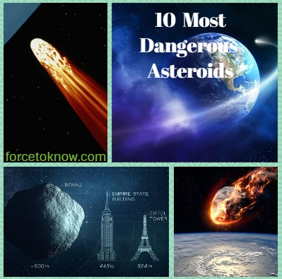 Top 10 the Most Dangerous Asteroids