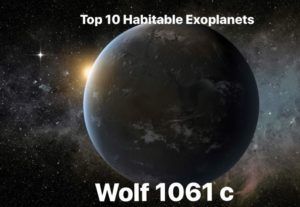 Wolf 1061c or WL 1061c is an exoplanet orbiting within the habitable zone