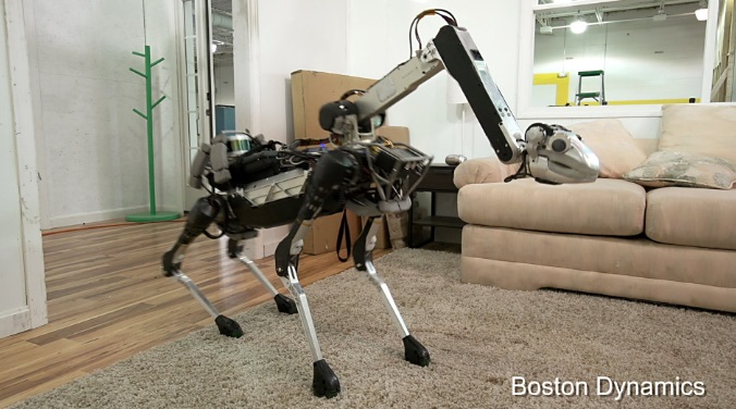 Boston Dynamics SpotMini Robot Goes on Sale in 2019