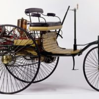 First Gasoline Automobile Was Invented by Karl Benz