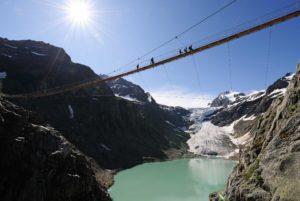 It is 100 meters high and 170 meters long
