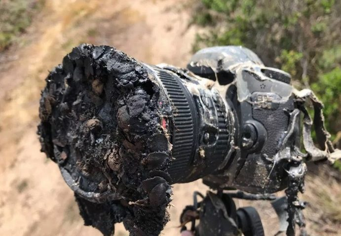 Bill Ingalls Camera Melted During a SpaceX Rocket Launch