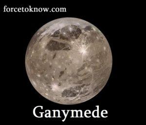 Ganymede has a diameter of 5,268 km