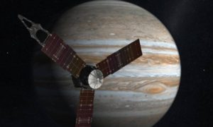 Juno Spacecraft Took an Unusual Image of Jupiter's Great Red Spot