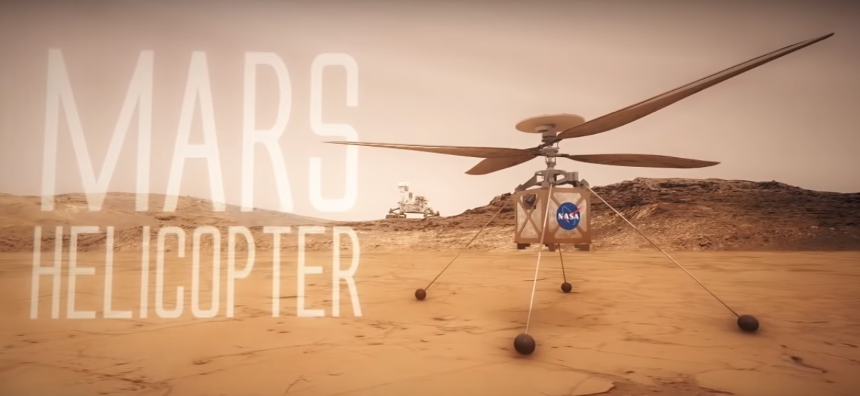 This Is the First Time When Mars Helicopter Flies on Mars