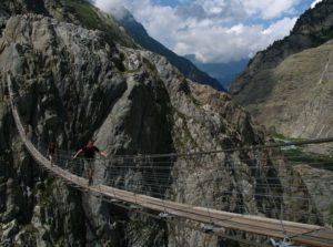 Trift Bridge is one of the most dangerous bridges