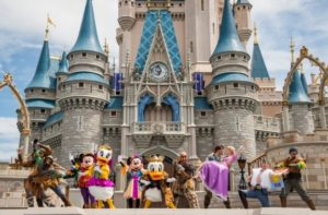 Walt Disney is the most visited vacation resort around the world