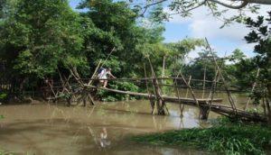 Monkey Bridge in Vietnam is a unique bridge and dangerous