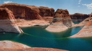 Lake Powell is currently larger than Lake Mead