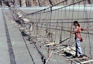 Bridge is one of the oldest bridges in Pakistan
