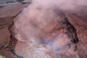 Kilauea is considered as one of the most active and dangerous volcanos