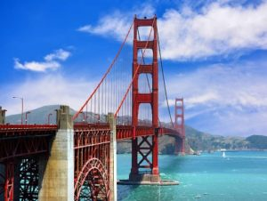 The bridge is one of the most internationally recognized symbols of San Francisco, California, and the United States