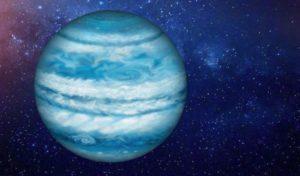 similar in size to Jupiter