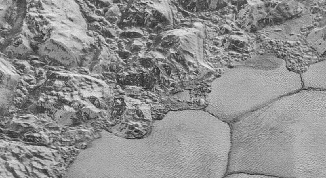 NASA's New Horizons Scientists Found Icy Dunes on Pluto