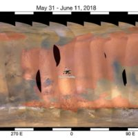 One of the Thickest Mars Dust Storms Ever Observed on Red Planet