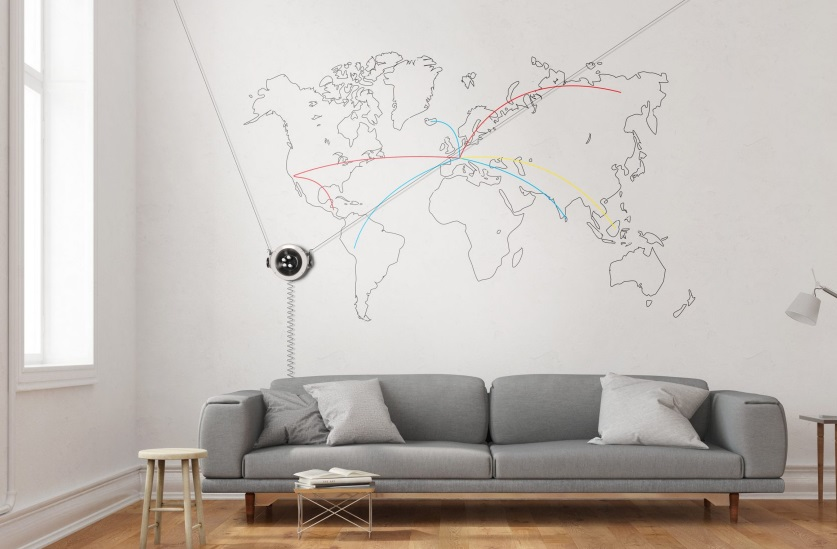 You May Draw Masterpieces on Your Bedroom's Wall with New Scribit Robot