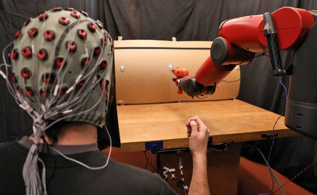 How to Use Brain signals and Hand Gestures to Control Robots?